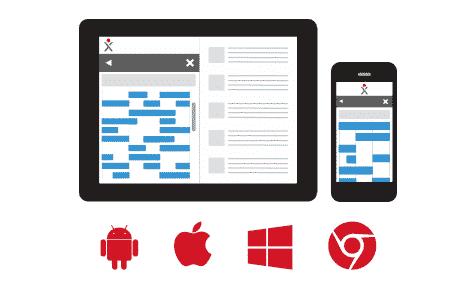 Mobile App im Hybridbetrieb: funktioniert sowohl on- als auch offline